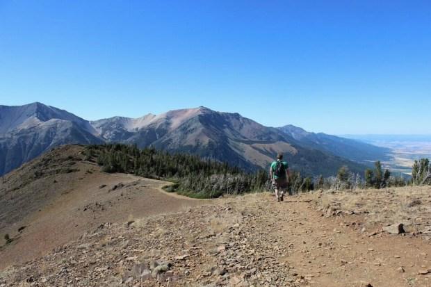 Wallowa Tram Ridge Trail