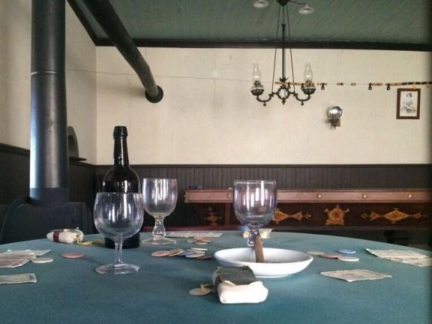 Fort Laramie saloon