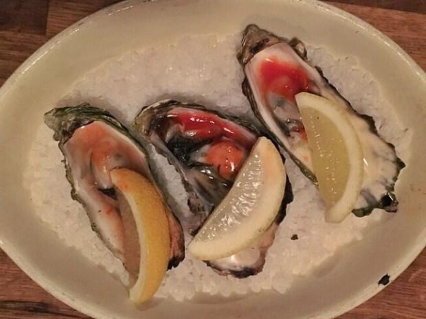 Old Salt oysters