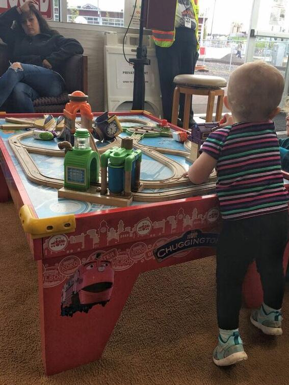 Oregon rail heritage kids play area