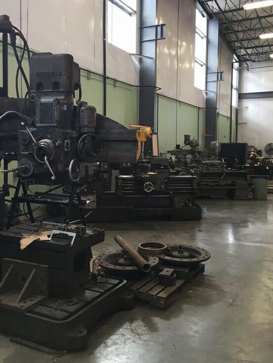 Oregon rail heritage machine shop