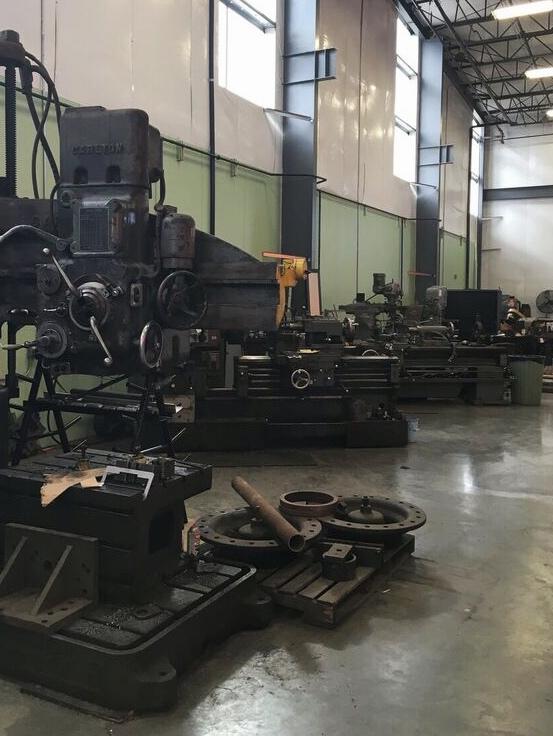 Oregon rail heritage machine shop