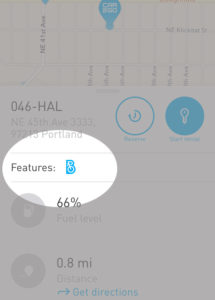 car2go bike locator
