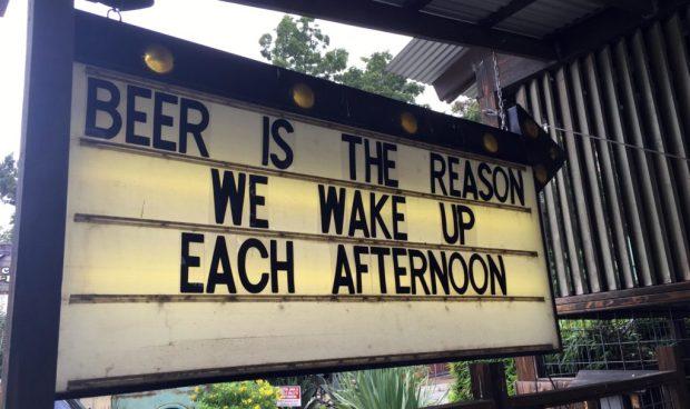 Austin Beer is the reason