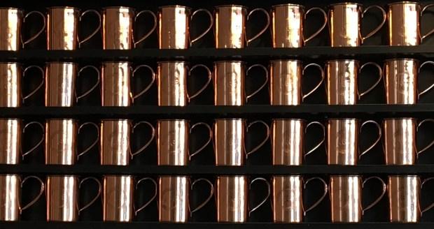 Rachel's Ginger Beer Copper Cups