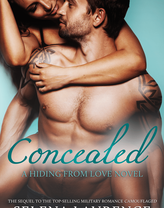 Cover Reveal! Selena Laurence's CONCEALED
