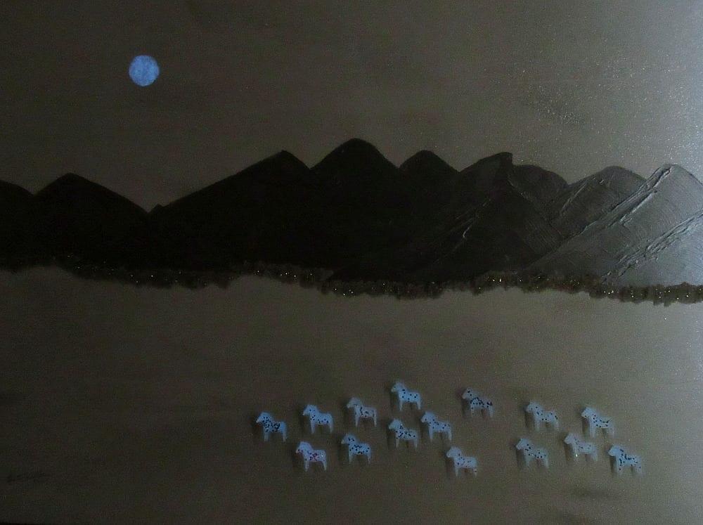 Moonlit Horses-Half Light