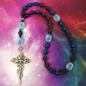 Blood And Sky Prayer Beads