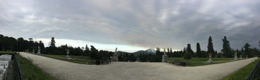 Powerscourt from the house
