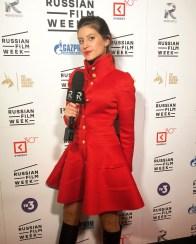Kristina Guberman red carpet host