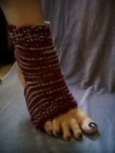 Yoga sock on DPNs