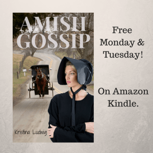 The redesigned cover of Amish Gossip, courtesy of Antonio... What do you think?