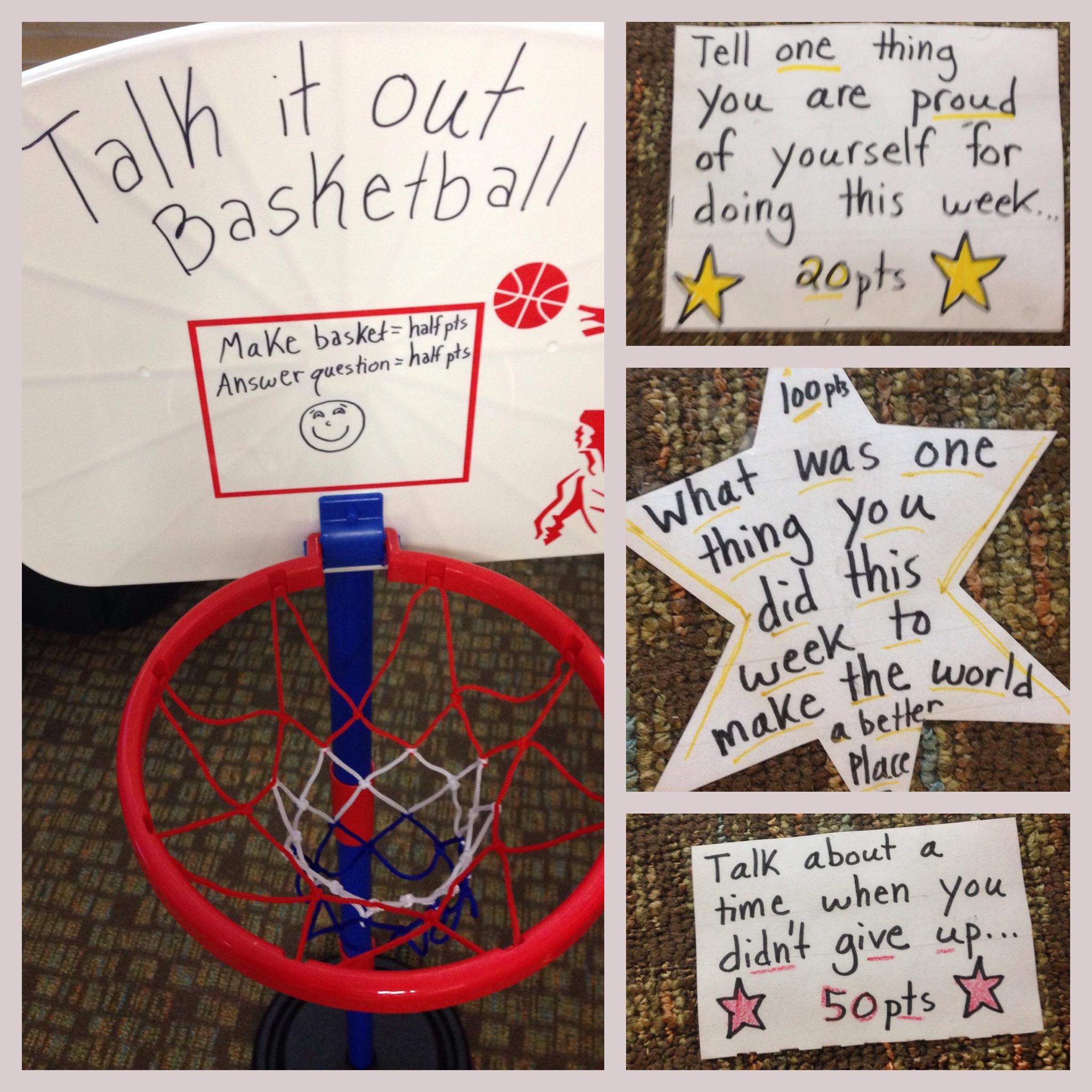 Talk It Out Basketball Art Of Social Work