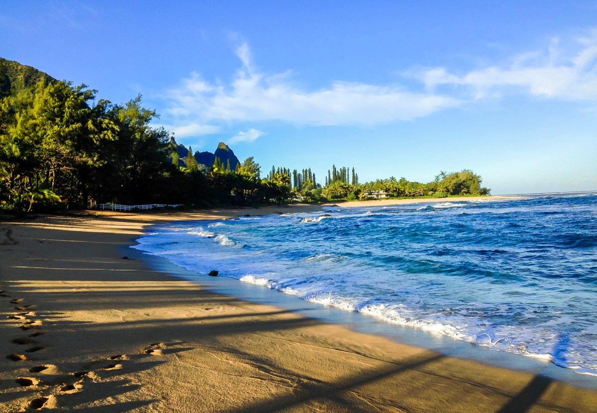 Best Beaches in Hawaii. Haena Beach, Kauai