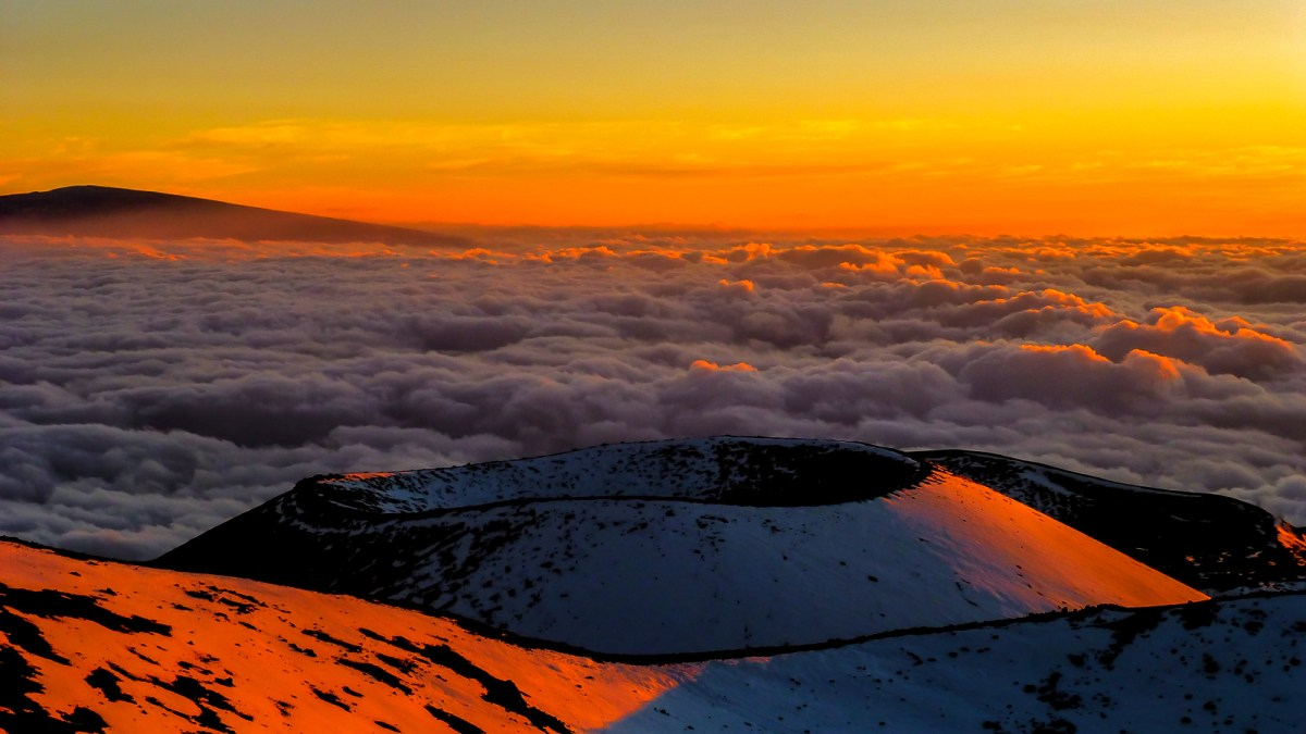 3 Week Hawaii Itinerary. Mauna Kea Sunset