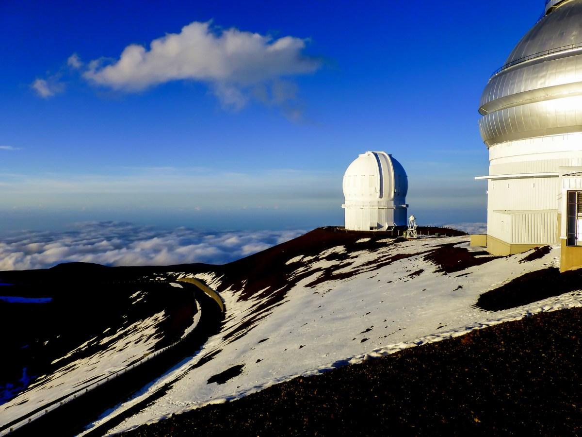 Stargazing at Mauna Kea Visitor Information Station
