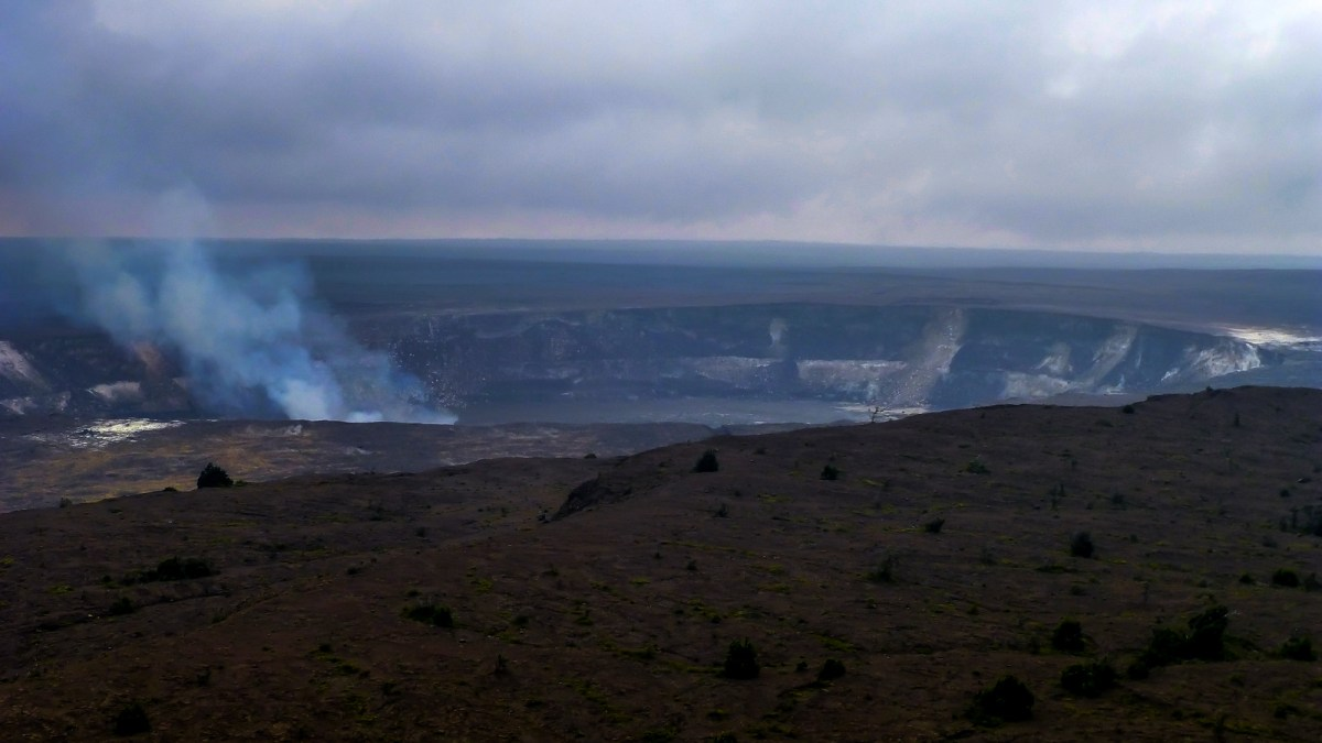 3 week Hawaii itinerary. Kilauea Active Volcano, The Big Island