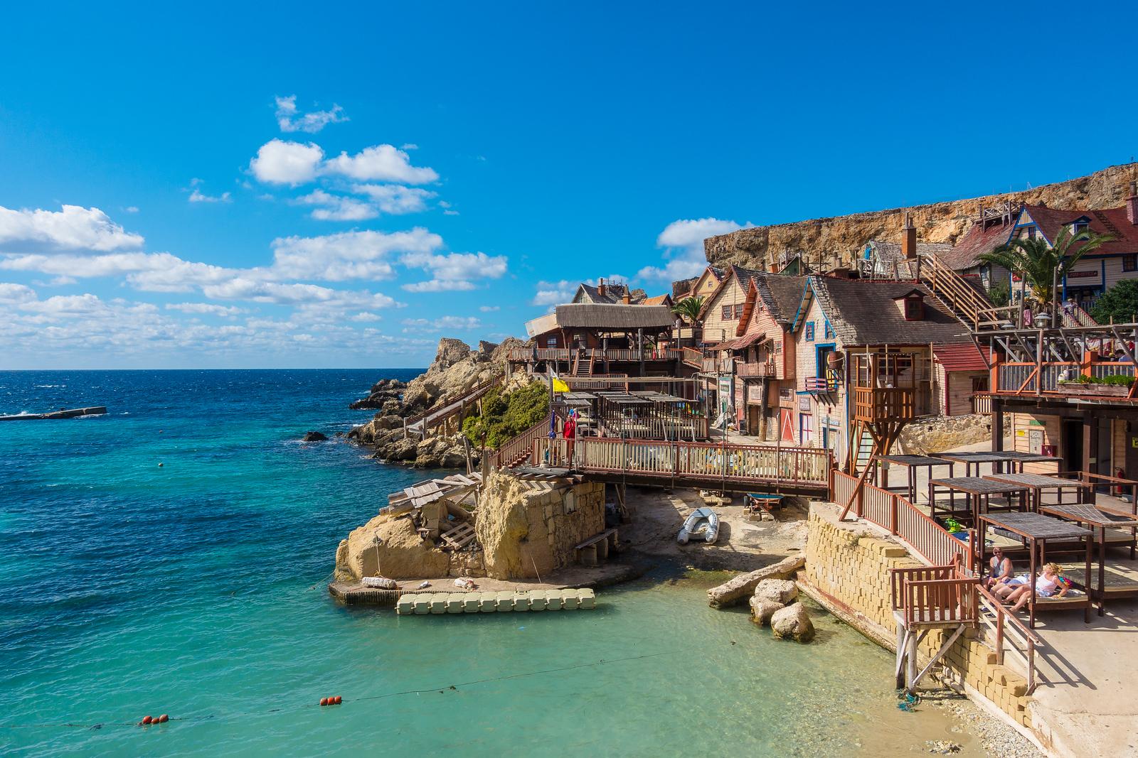Anchor Bay, Popeye's Village Malta