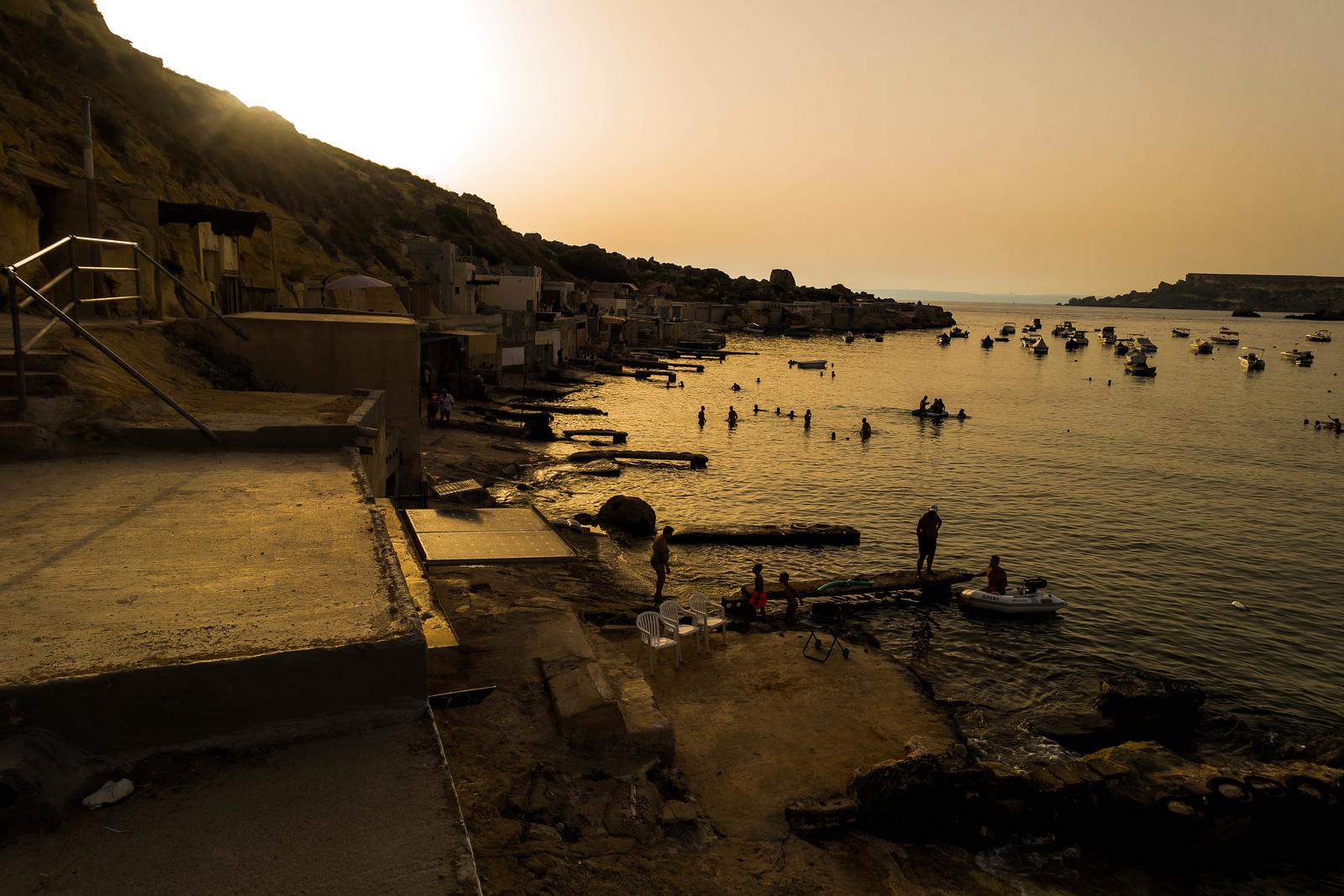 Malta in Pictures - Gnejna Bay