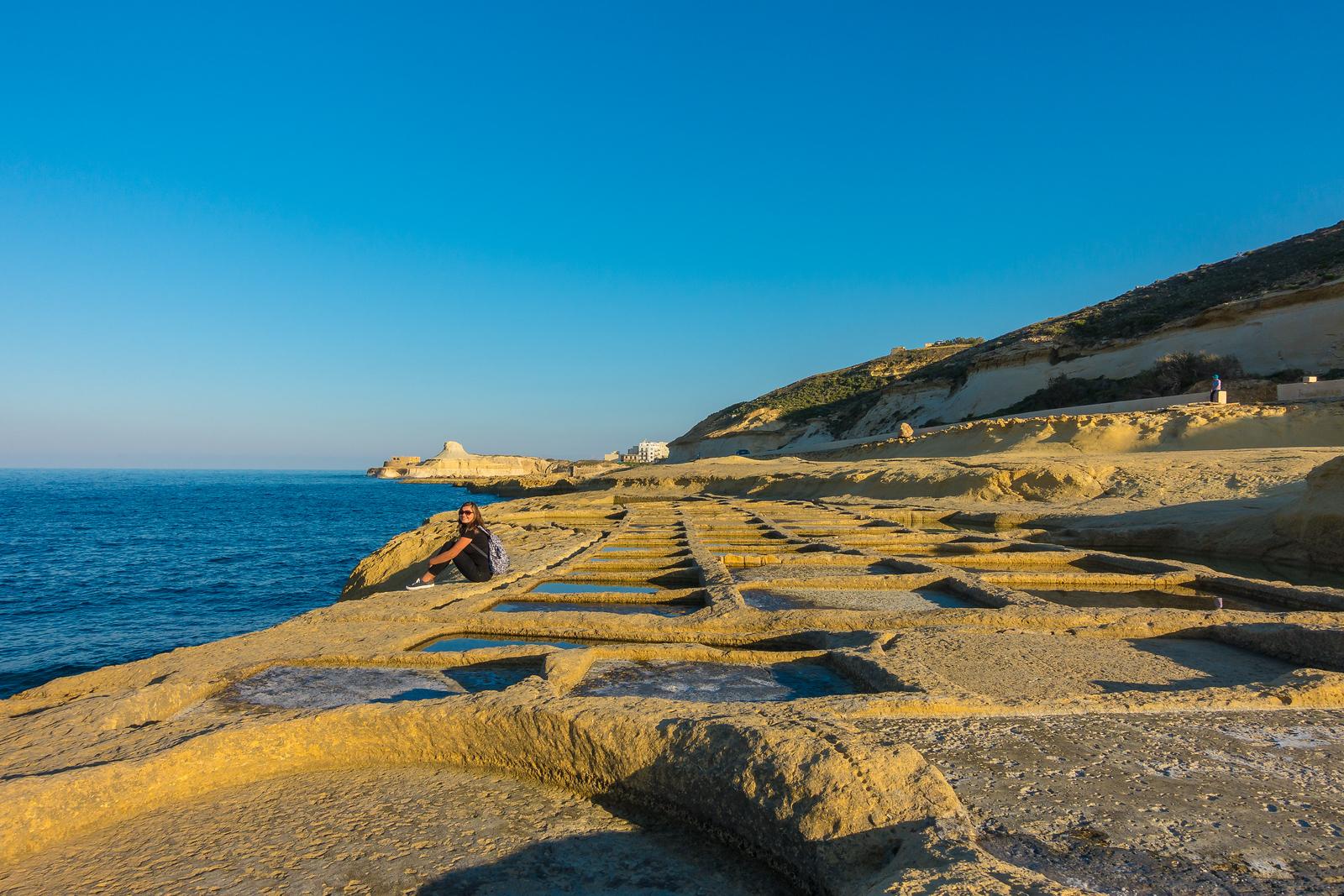 Malta Pictures - salt pans