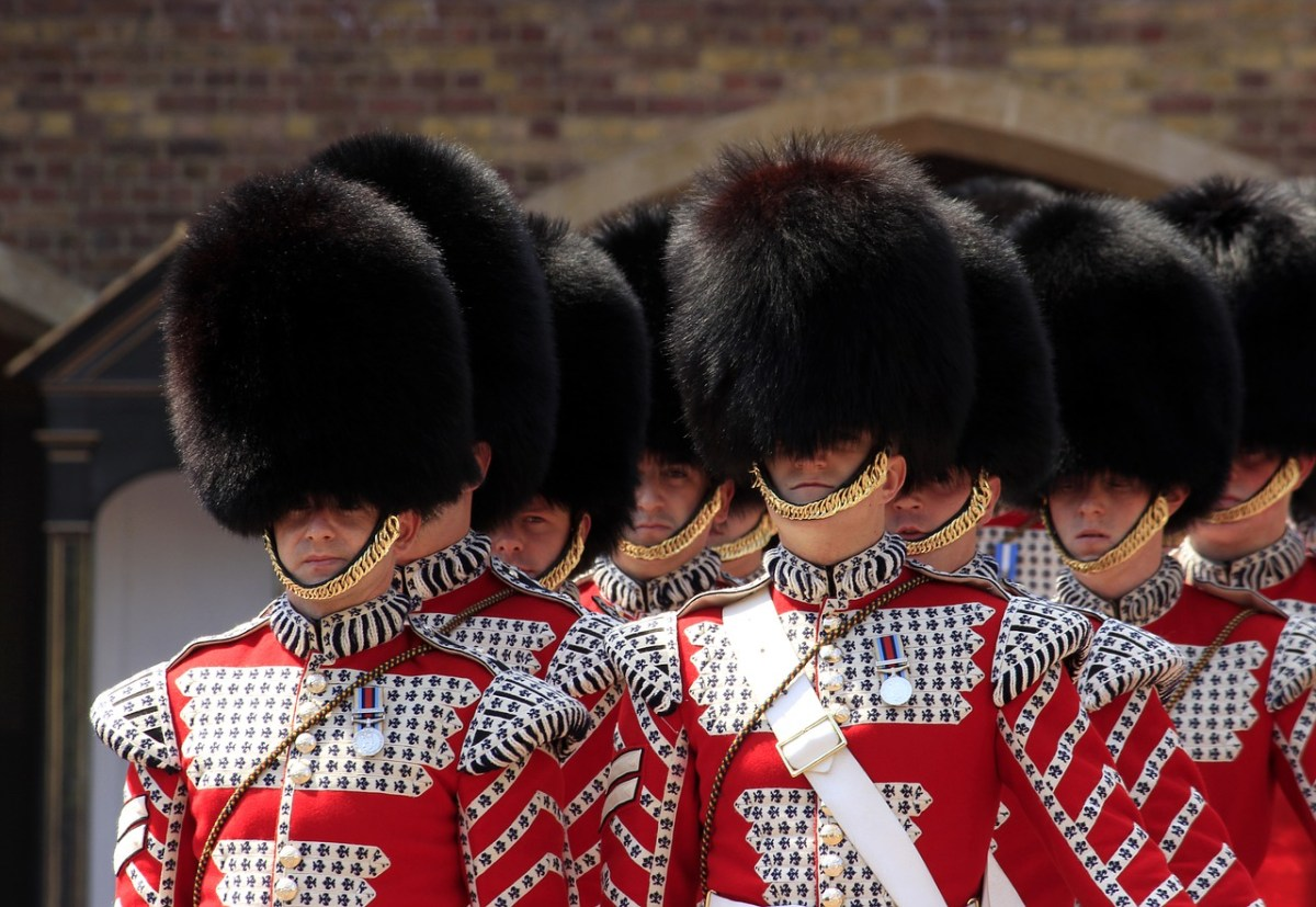 London Pass Review, The Guards Parade