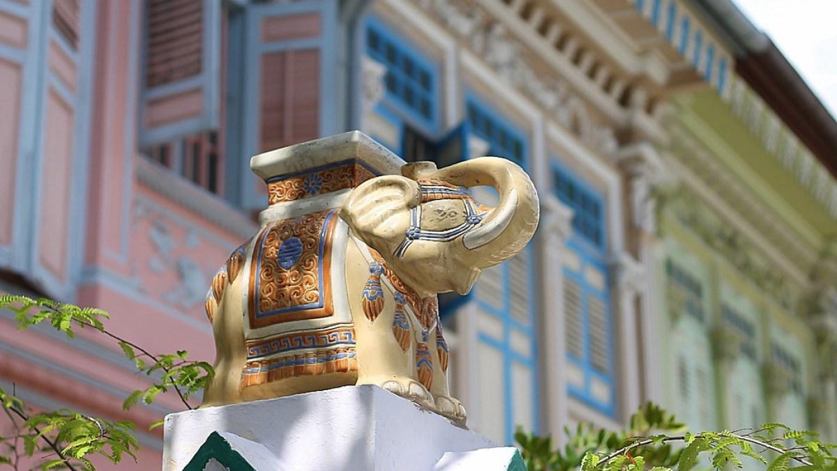 Singapore travel tips. Katong/Joo Chiat District