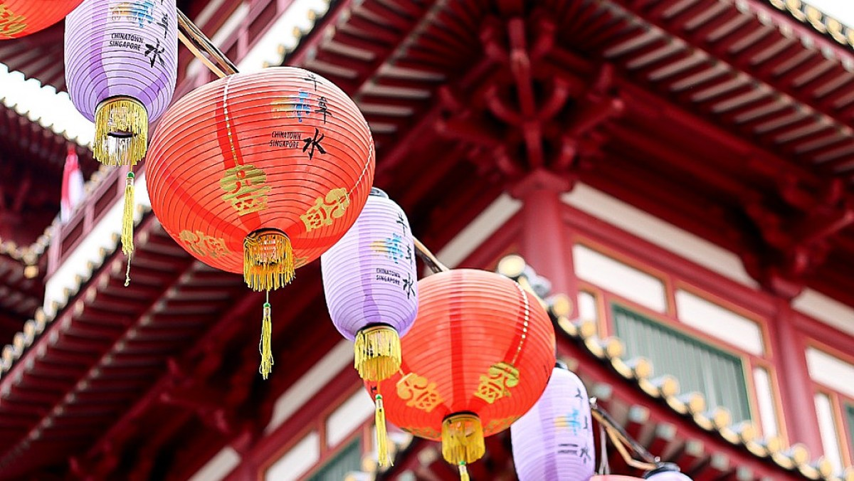 Singapore travel tips. China Town