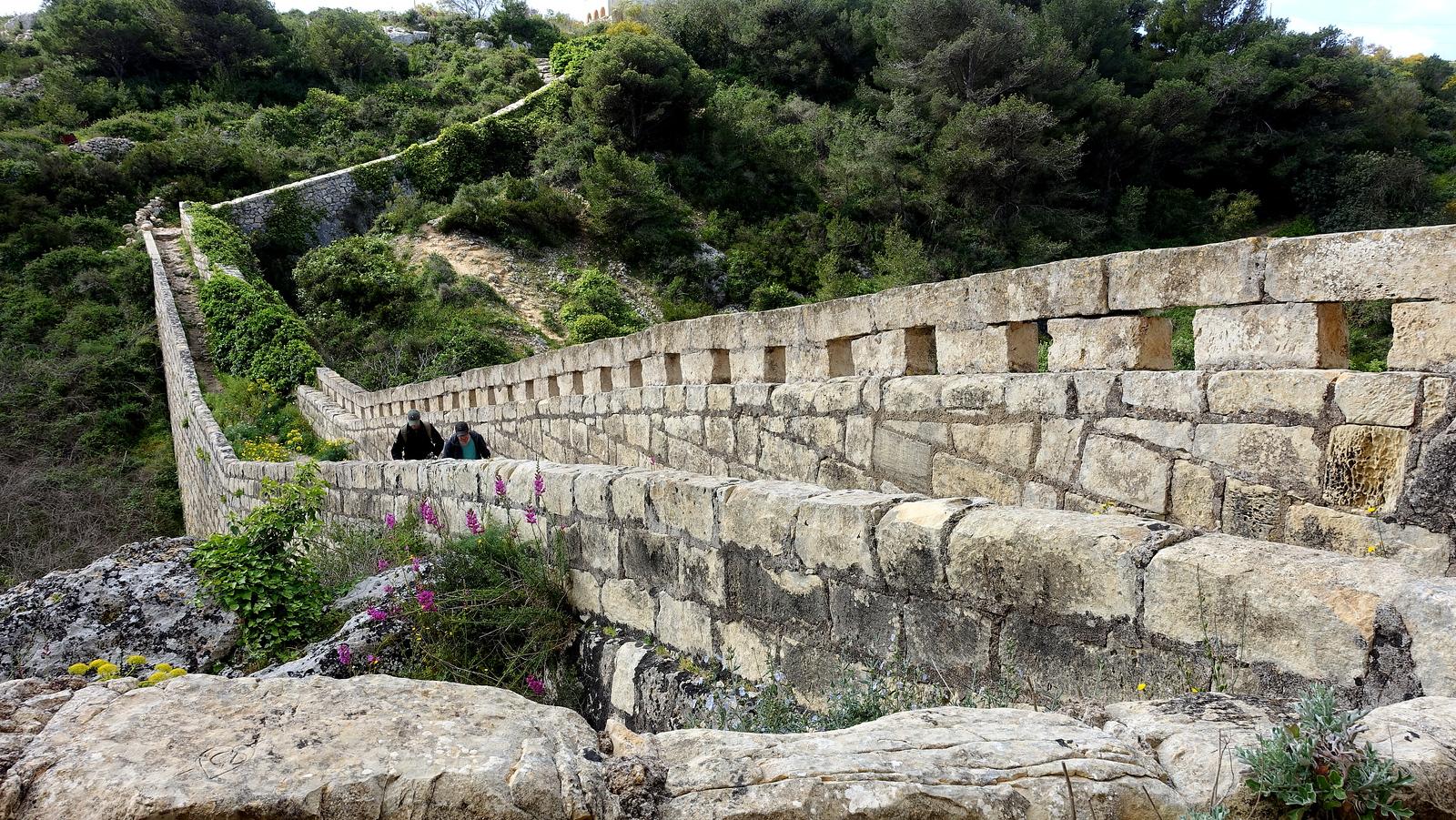 Malta Itinerary. Victoria Lines Trek