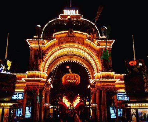 Halloween im Tivoli Freizeitpark