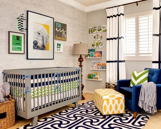 9 Ways To Create A Modern Nursery For A Boy