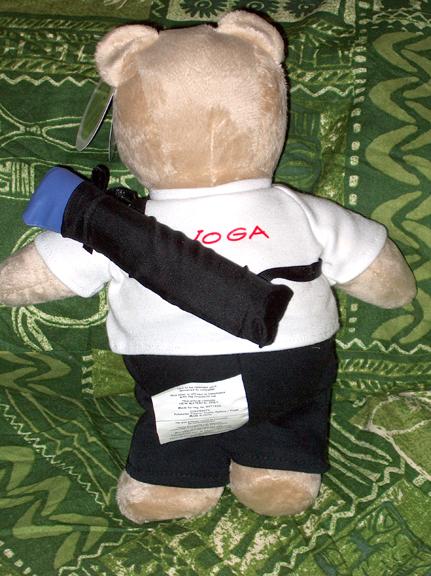yoga bear back