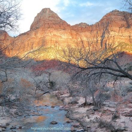 Parus Trail at Zion -