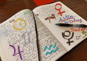 Astro-writing Salon