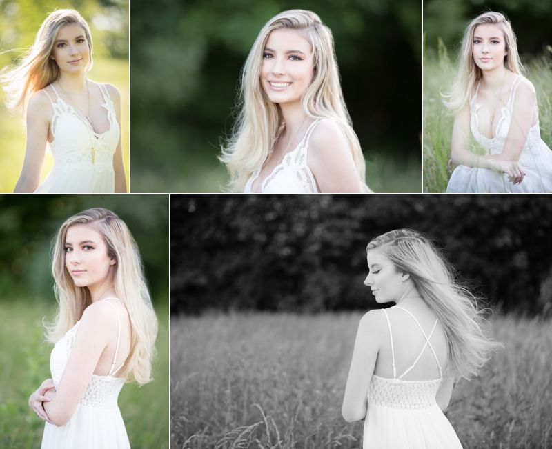 Senior pictures for girls. Beautiful hair and make-up by professionals featuring clothes you love and places you enjoy.