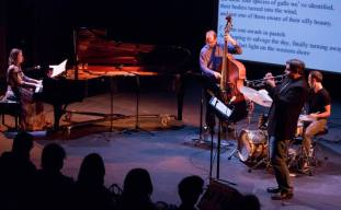 Cathlene Pineda Quartet performs at REDCAT for the Angel City Jazz Festival, photo © Bob Barry