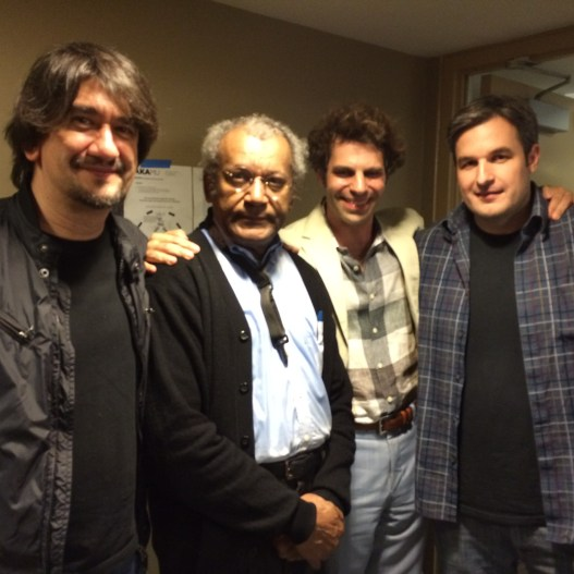 With Kio Griffith, Anthony Braxton, and Allen Glass