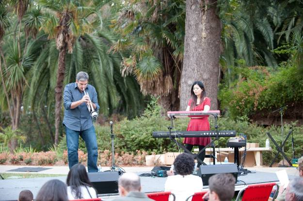 With Motoko Honda at Montalvo Arts Center, Rock the Garden 2015