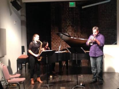 Vidya Trio at the Center for New Music, San Francisco