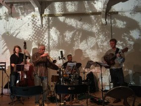 Loz Speyer's Quartet at I'Klectik, London