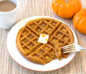 Image result for pumpkin waffles