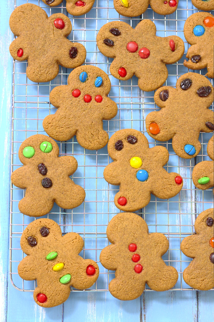 The best soft, perfectly spiced gingerbread cookie recipe.