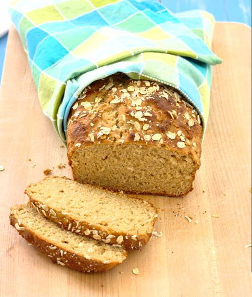 honey oat quick bread from Kristine's Kitchen