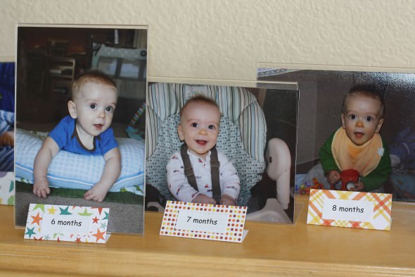 close up of monthly Photos