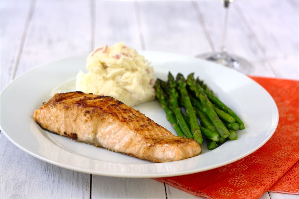 Asian Grilled Salmon~Kristine's Kitchen