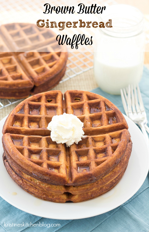 gingerbread waffles pinterest picture