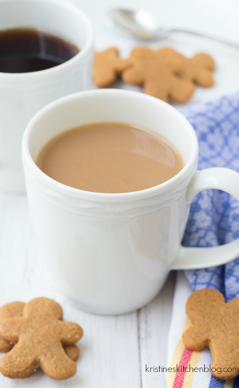 Gingerbread Coffee - Your steaming mug of coffee is extra special with a hint of warm gingerbread spices.