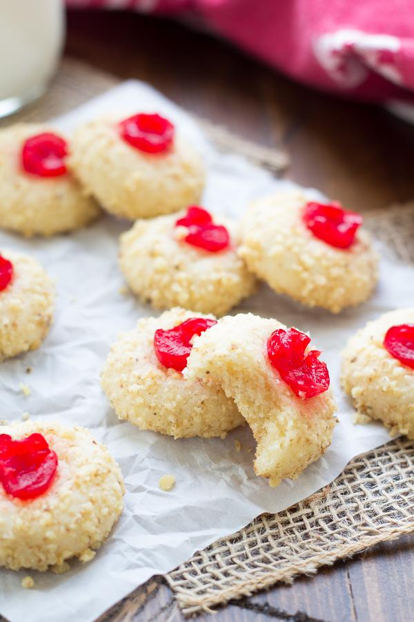 Cherry Cream Cheese Cookies