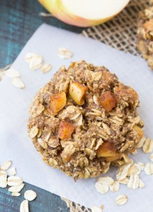 We love these Apple Pie Breakfast Cookies for quick breakfasts and snacks! Make a batch and store them in your freezer for busy days!   www.kristineskitchenblog.com