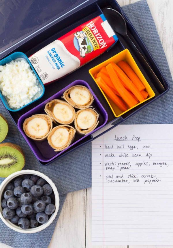 No Fuss School Lunch Ideas Make Ahead