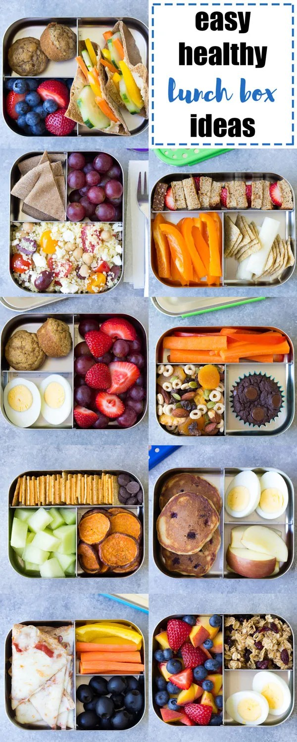 10 more healthy lunch ideas for kids (for the school lunch box or